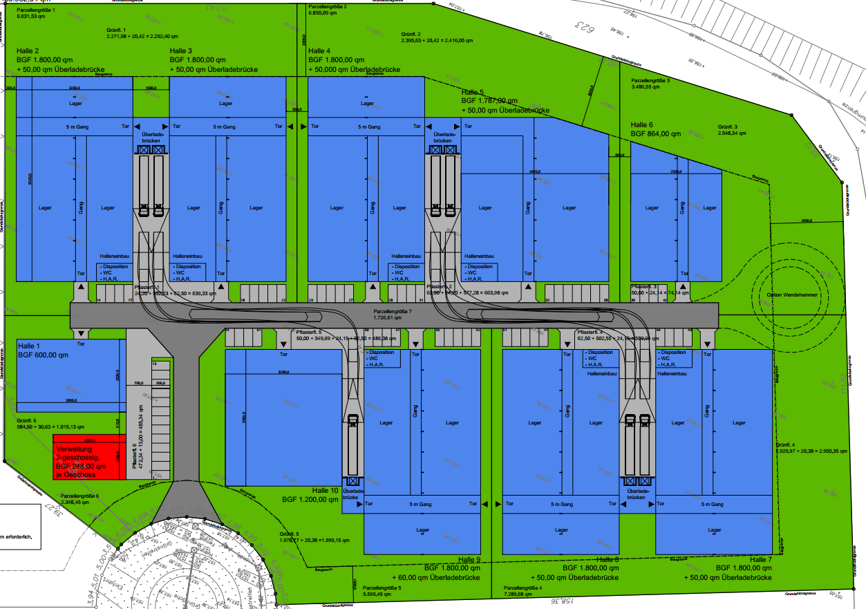 Planning of the project IGP-Eschweiler – Ernst Abbe-Str.