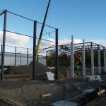 Semaine 4 - les projets de construction Wiltec: le début du montage de l'acier