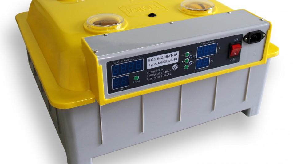 Inkubator - Brutmaschine für Eier Automatische Brutmaschine 48 Eier