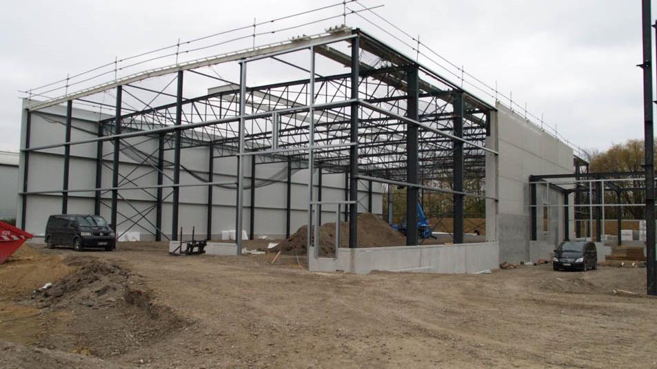WilTec Stahlbau durch Valeres Industriebau GmbH