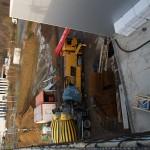 Der Beton fließt... WilTec Lagerhalle 2 IGP