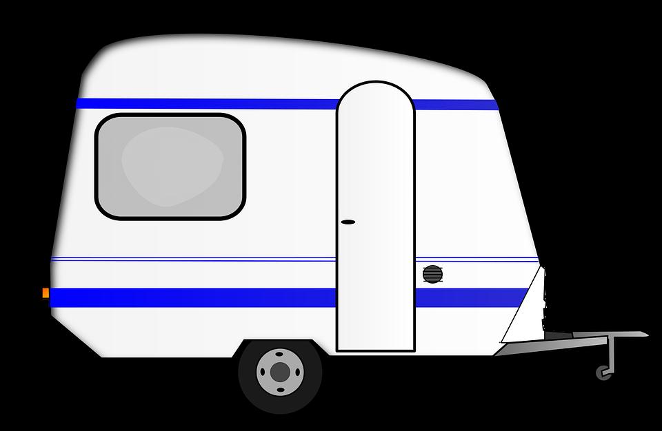Zeichnung Wohnwagen